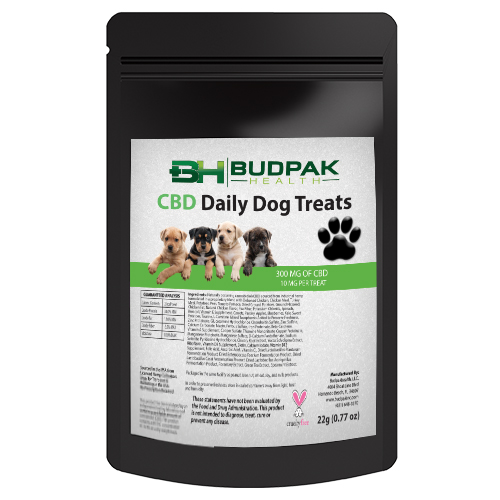 Budpak CBD Dog Treat